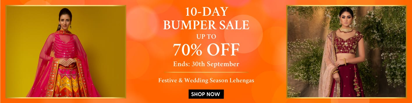 listing/festive-offers/?category_product=bridesmaidlehenga-printedlehenga-lehengas190-traditionallehenga-cocktaillehenga-bridallehenga-fusionlehenga-drapelehenga&utm_source=LandingPage&utm_medium=Banner&utm_campaign=BumperSale-Lehenga