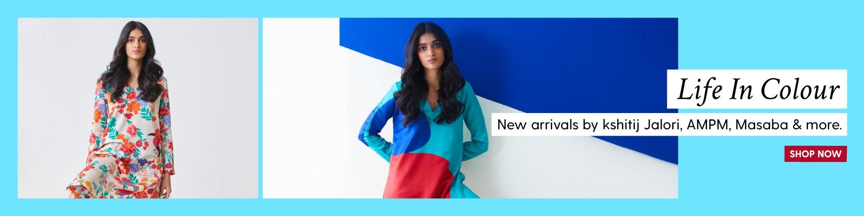 clothing/?designers=masaba130-jadebymonicaandkarishma-siddharthabansal-vidushigupta-gopivaid-kiranuttamghosh-yashodhara130-kshitijjalori-ampm&=&utm_source=LandingPage&utm_medium=Banner&utm_campaign=NewArrivals