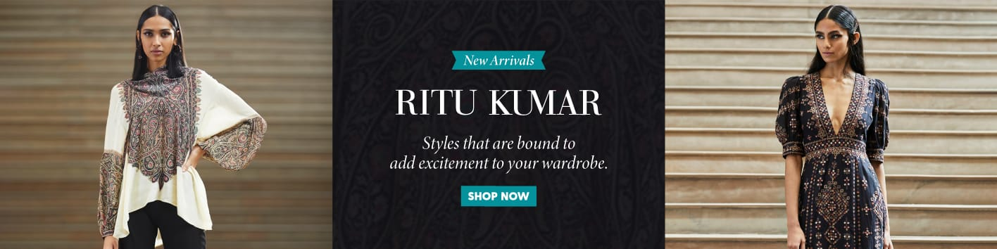 whats-new/?designers=ritukumar&=&utm_source=LandingPage&utm_medium=Banner&utm_campaign=RituKumar-NewArrivals