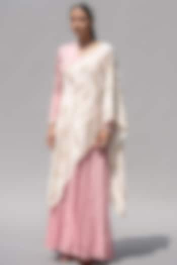 Pink Embellished Dress by Abstract By Megha Jain Madaan
