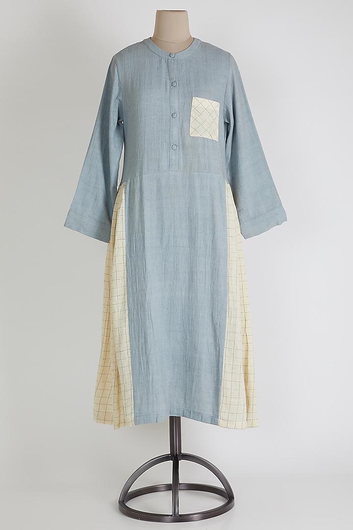 Grey Dress With Pockets by 3X9T