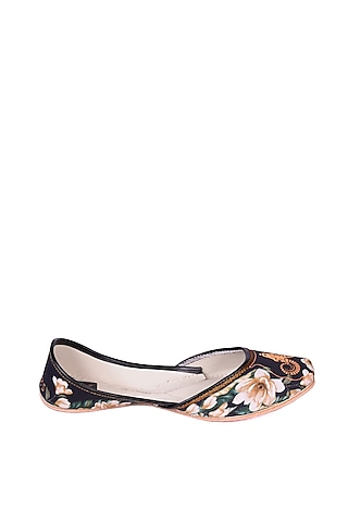 Multi Colored Aries Digital Printed Juttis by 5 Elements