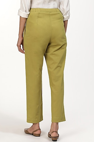 Amla Cotton Cambric Pants by Abraham & Thakore