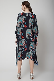 Black Crepe Silk Dress by Anupamaa Dayal