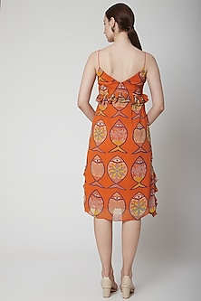 Orange Sunset Dress by Anupamaa Dayal