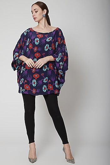 Purple One Size Top by Anupamaa Dayal