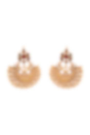 Gold Plated Palomi Earrings by Anita Dongre Silver Jewellery