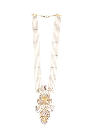Gold Plated Aanohi Necklace by Anita Dongre Silver Jewellery