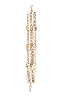 Gold Plated Magal Bracelet by Anita Dongre Silver Jewellery