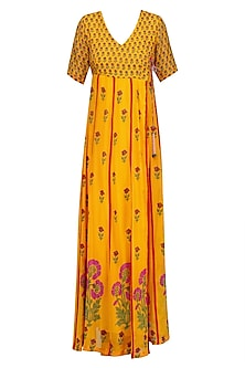 Mango Floral Printed Kurta Set by Anupamaa Dayal