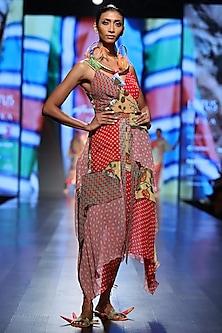Multi Color Printed Dress by Anupamaa Dayal