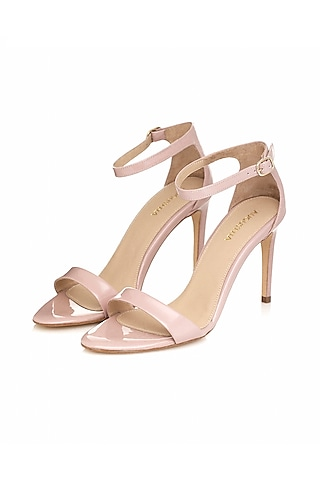 Nude Handmade Leather Sandals by Augustha