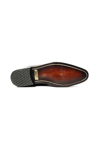 Black Patent Leather Shoes by ARTIMEN