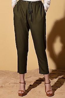 Olive Green Joggers by AM:PM