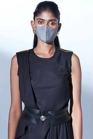 Light Grey Printed Mask by AMPM