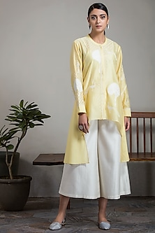 Mustard Shirt With Pants by AM:PM
