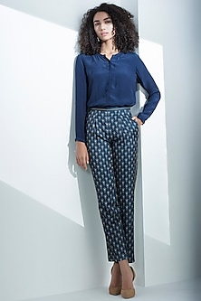 Navy Blue Trousers by AM:PM