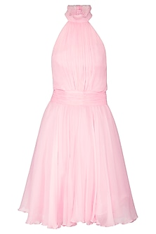 Light Pink Frock Dress by AMIT GT