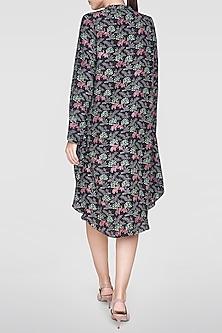 Black Printed Dress by Anita Dongre