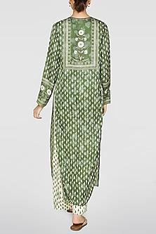 Green Printed Kurta by Anita Dongre