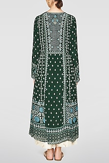 Green Printed Wafa Tunic by Anita Dongre