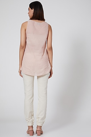 White Pants With Pockets by Ankita