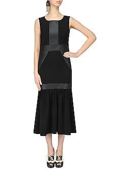 Black Long Dress by Ankita