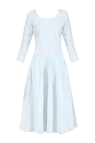 Green Empire Waist Dress by Ankita
