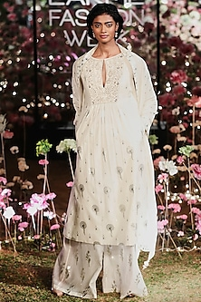 Natural Printed Kurta Set by Anita Dongre