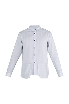 Black & White Striped Shirt by Ananke