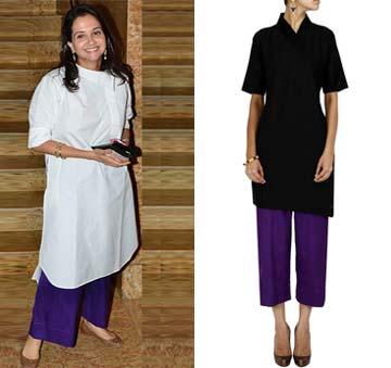 Violet wide legged pyjama by Payal Khandwala