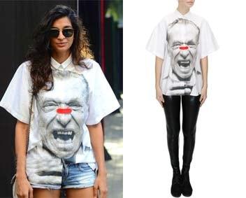 White Bukowski Shirt by Huemn