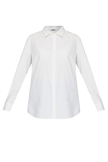 Classic white button down shirt by Anomaly