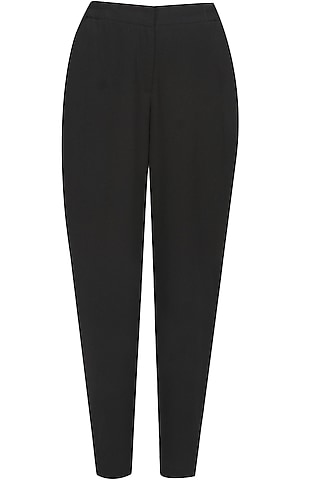 Black high waisted city pants by Anomaly