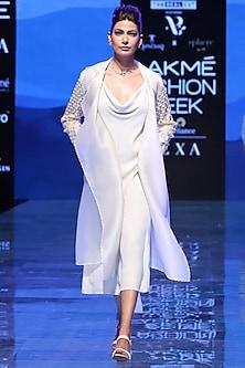 Ivory Slip Dress by Archana Rao