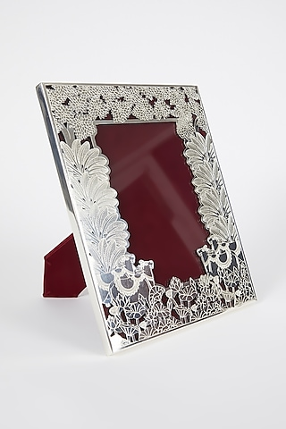 Silver Plated & Brass Photo Frame by Assemblage