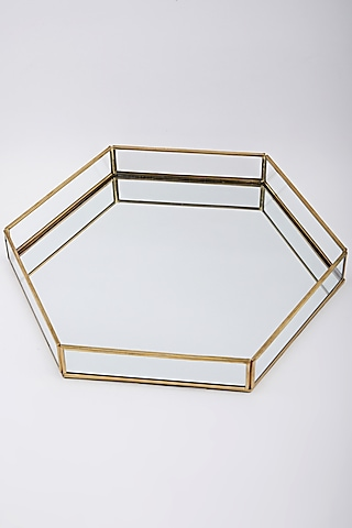 Gold Hexagonal ay by Assemblage