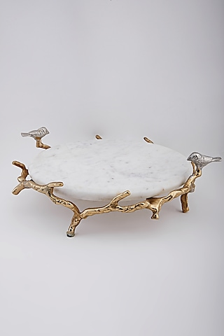 White Serving Platter by Assemblage