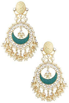 Gold Chand Baali Earrings by Aster