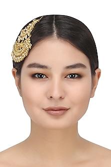 Kundan and Pearl Passa by Auraa Trends