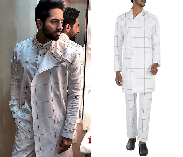 White printed trench jacket by Son Of A Noble SNOB