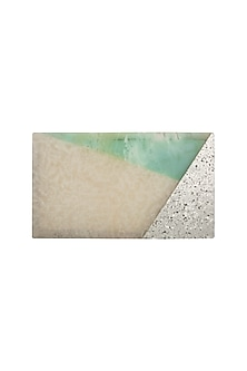 Green Shimmery Clutch by Be Chic