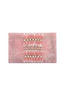 Pink Embroidered Clutch by Be Chic