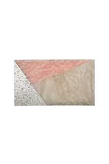 Pink Shimmery Clutch by Be Chic