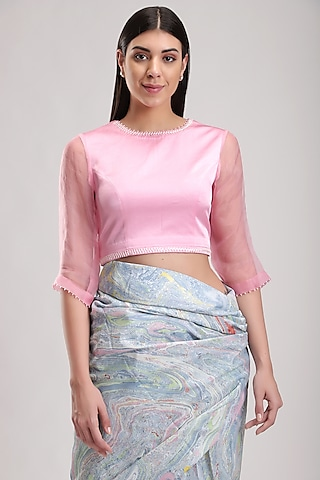 Pink Handmade Blouse by Be True