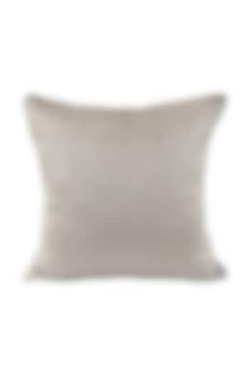 Grey Faux Fur Cushion Cover With Fillers by Barkat