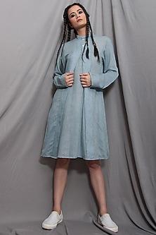 Light Blue Over Dress by Bohame
