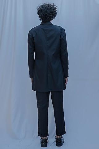 Black Jacket Set by Bohame Men