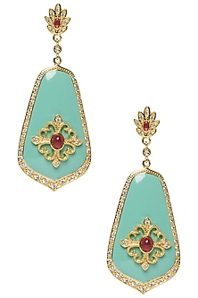 Turqouise Vintage Earring by The Bohemian