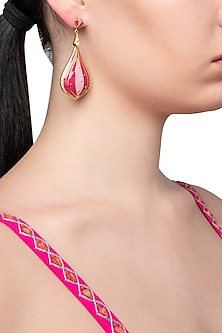 Coral Hot Air Balloon Earring by The Bohemian